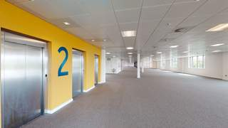 3D Scan - Area B - 2nd Floor - The Lighthouse, Salford - Office for rent - 1,332 to 21,740 sq ft