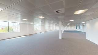 3D Scan - Area A - 2nd Floor - The Lighthouse, Salford - Office for rent - 1,332 to 21,740 sq ft