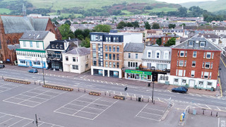 Aerial Video - 80 Gallowgate St, Largs - Shop for rent - 1,271 to 1,412 sq ft