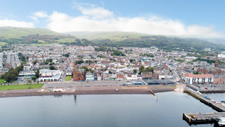 Aerial - 80 Gallowgate St, Largs - Shop for rent - 1,271 to 1,412 sq ft