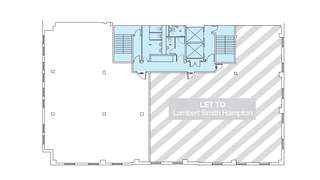 Floor Plan for 227 West George St - 1