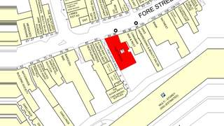 Goad Map for 84-86 Fore St - 1