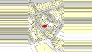 Goad Map for St Martins Shopping Centre - 2