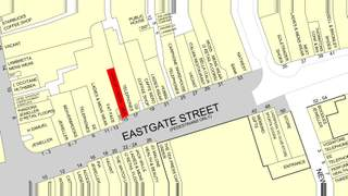 Goad Map for 15 Eastgate St - 2