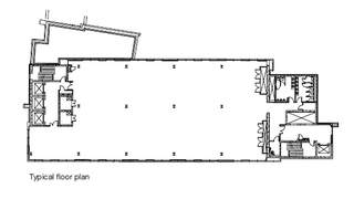 Typical Floor Plan for Blue Tower - 1