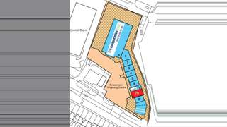 Site Plan for Boscomoor Shopping Centre - 2