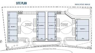 Site Plan for Westfield Point Block 1 - 1
