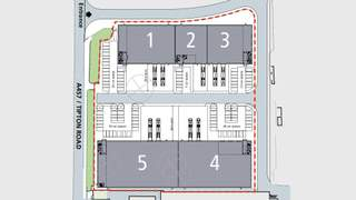 Site Plan for Phase 1 - 2