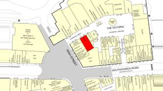 Goad Map for The Victoria Shopping Centre - 1
