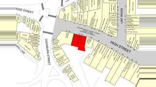 Goad Map for 21-33 High St - 2