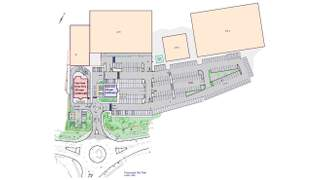 Site Plan for Fast Food Drive Thru - 2