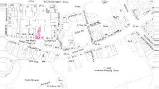 Plat Map for 12-13 Market St - 1