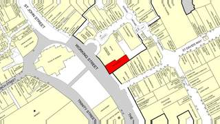 Goad Map for Queens Arcade Shopping Centre - 2