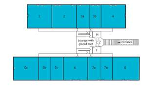 Floor Plan for Crombie Lodge - 2