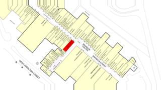 Goad Map for Motherwell Shopping Centre - 1