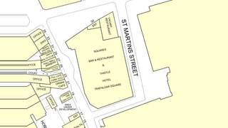 Goad Map for A1 Retail Unit- Thistle Hotel - 1