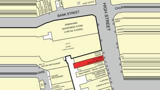 Goad Map for 76 High St - 3