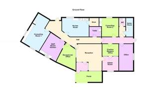 Floor Plan for Bottesford Surgery - 2