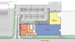 Site Plan for The Courtaulds Building - 2