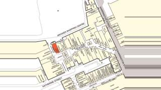 Goad Map for The Arcades Shopping Centre - 1