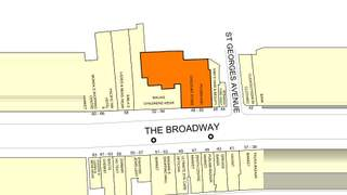 Goad Map for Broadway Shopping Centre - 1