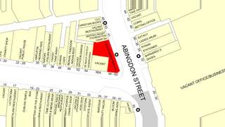 Goad Map for 56-60 Clifton St - 2