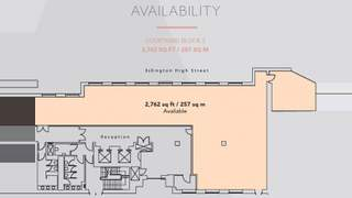 Floor Plan for Angel Square - 1