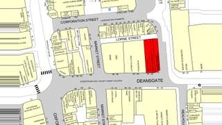 Goad Map for 32-36 Deansgate - 2