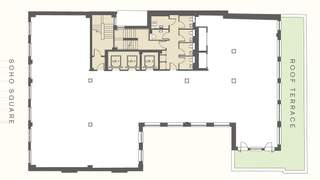Floor Plan for 25-25A Soho Sq - 2