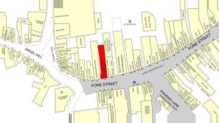 Goad Map for 14 Fore St - 1