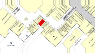 Goad Map for Cherry Tree Shopping Centre - 1