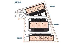 Site Plan for Western Campus - Building 1 - 2