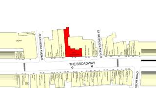 Goad Map for 54-56 The Broadway - 1