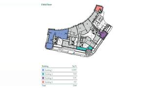 Floor Plan for London Wall Buildings - 1