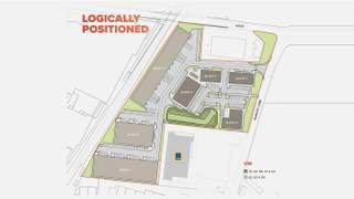 Site Plan for Manor Point Holmes Chapel - Block A - 1