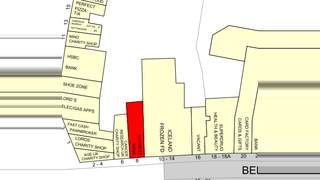 Goad Map for 8 Bell St - 2