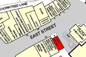 Goad Map for 9 East St