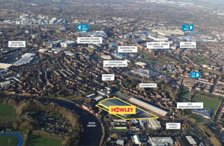 Aerial - Howley 80, Warrington - Industrial unit for rent - 78,621 sq ft