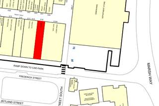 Goad Map for Trinity Walk Shopping Centre
