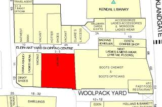 Goad Map for Elephant Yard Shopping Centre