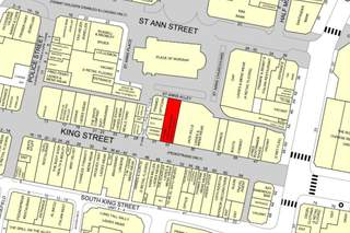 Goad Map for 33 King St
