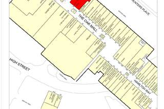 Goad Map for Oak Mall Shopping Centre
