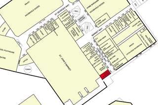 Goad Map for St Johns Shopping Centre