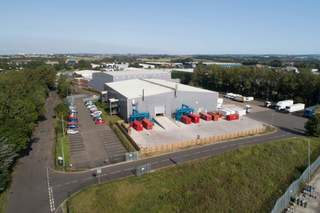 FRONT-COVER PHOTO - Building 2, Bellshill - Industrial unit for sale - 38,025 sq ft