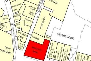 Goad Map for Barclays Bank Building
