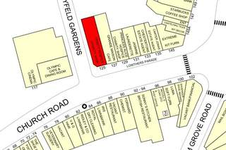 Goad Map for 125 Church Rd