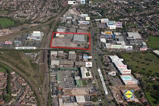 Aerial for Industrial units at Access Park
