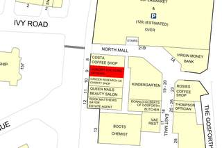 Goad Map for Gosforth Shopping Centre