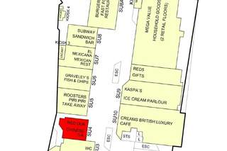 Goad Map for Core Shopping Centre