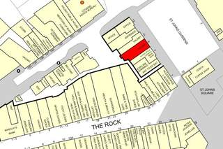 Goad Map for The Rock Shopping Centre